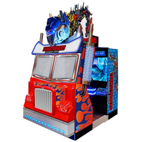 Transformers Shadows Rising Arcade Game By Sega Appearing