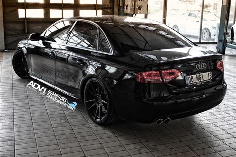 audi a4 adv5 2m v2 matte black wheels adv 1 wheels