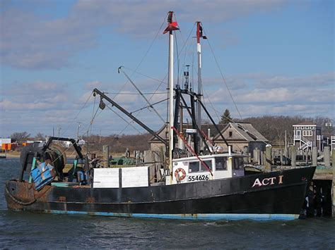Fishing Boat Montauk by The Trawler Act 1 At Town Dock Montauk Ny Montauk S
