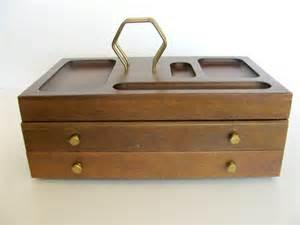 mens valet dresser organizer vintage mens jewelry box danish
