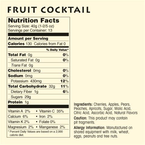 natural dried fruit nutritional information meduri