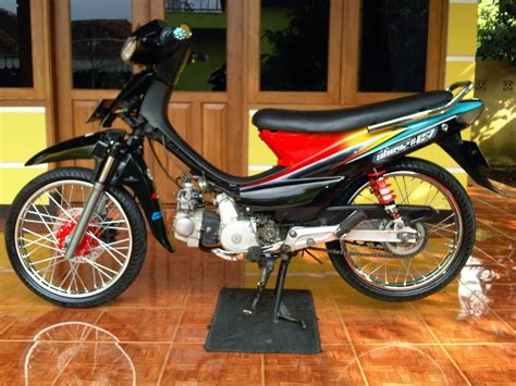 Supra Modifikasi by Modifikasi Motor Honda Supra Fit 2004 Terbaru Otomotiva