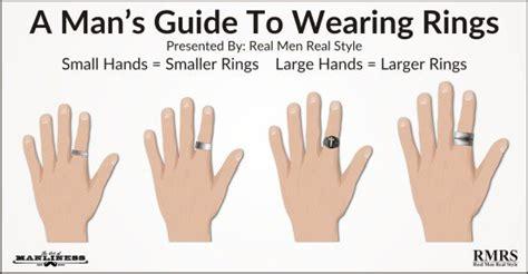gu 237 a de un hombre para el uso de anillos