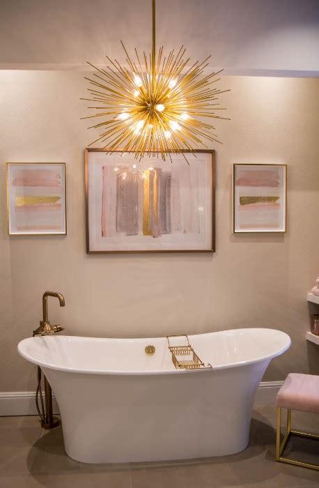 gold accents master bathroom kbf design gallery