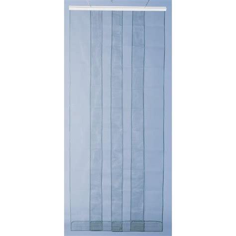 rideau de porte moustiquaire arles 4 bandes 100x220 cm morel home boulevard
