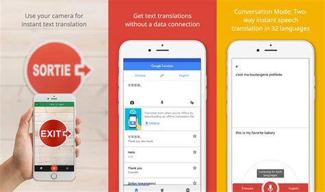 translation to 4 best free apps with live translate offline text