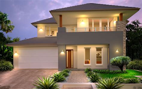 home builders mayfair  double storey home designs