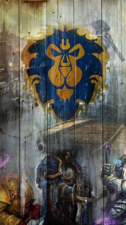 Wallpapers Warcraft Wow Alliance Iphone Wrynn Varian