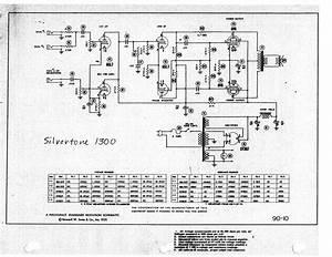 Silvertone 1433 Sch Service Manual Free Download