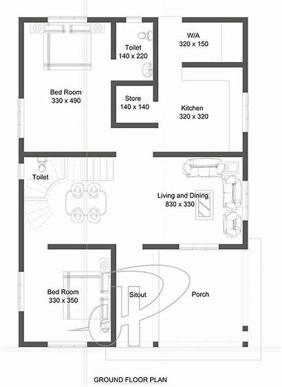 Bedroom Sq Plan Floor Plans Kitchen Dining
