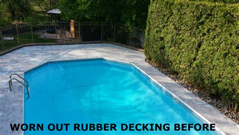 rubberized pool deck coating pool roof deck rubberized epoxy coating armorgarage
