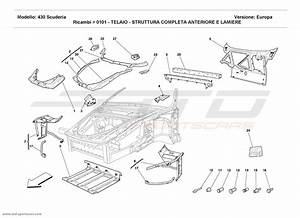 Ferrari F430 Scuderia Structural Frames Parts At Atd