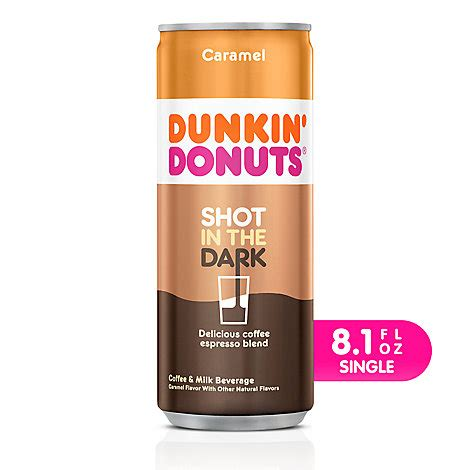 Make your own at home with these dunkin' iced coffee recipes! Dunkin Donuts Iced Coffee Beverage Espresso Shot In The Dark Caramel - 8.1 Fl. Oz. - Randalls