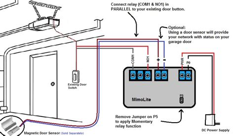 Safety Sensor Wiring Diagram by Chamberlain Door Sensor Door Sensor The Rest Of The