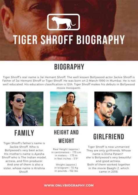 Tiger Shroff Biography - Height, Weight, Age, family ...
