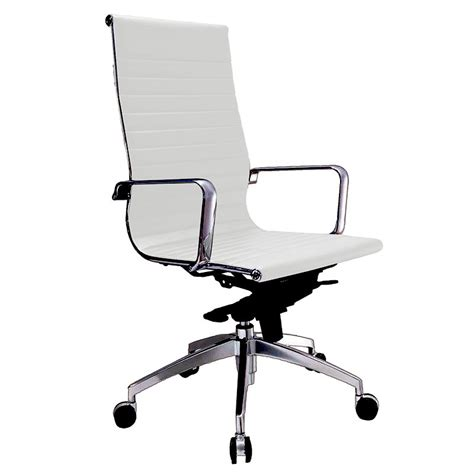 Office Chairs Denver by Denver Executive High Back Chair White Fast Office