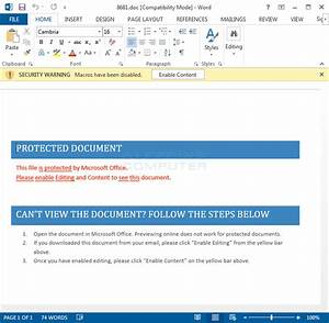Cryptinfinite or decryptormax ransomware decrypted for Word documents protected