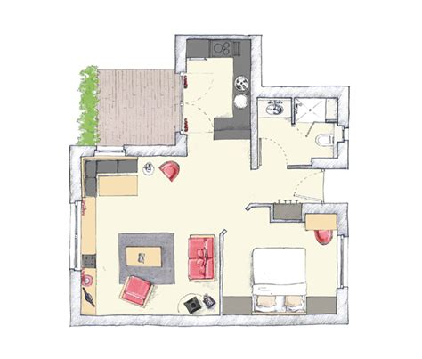 plan appartement 2 chambres excellent descriptif de with plan appartement 2 chambres