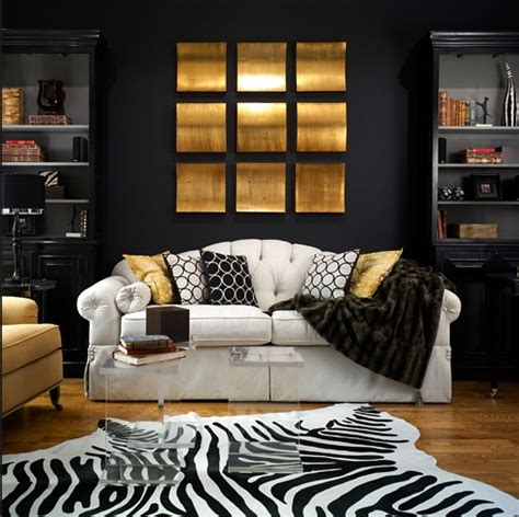 gold and black living room ideas black and gold living room contemporary living room brandon barre photography