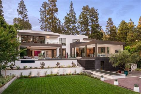 fashion moguls beverly hills contemporary home  listed