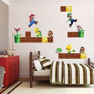 wall decal awesome mario brothers wall decals cheap super With awesome mario brothers wall decals