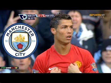 Cristiano Ronaldo Vs Manchester City Manchester United ...
