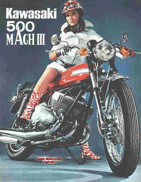 Vintage Kawasaki by A Z Of Historic Classic Vintage Veteran Motorcycles