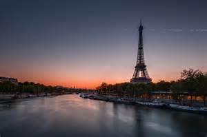 Sunset Sunrise Paris France