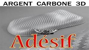 Film Covering Moto : film adh sif pour covering carbone argent 3d voiture moto d co maison etc youtube ~ Medecine-chirurgie-esthetiques.com Avis de Voitures