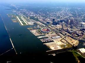 Cleveland waterfront | Coming in to town. | yooperann | Flickr