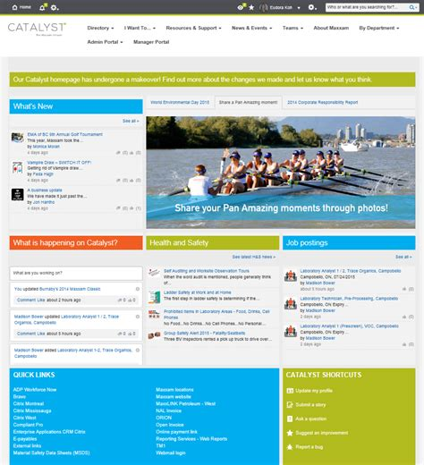 Best Homepage by 5 Top Tips From Beautiful Intranet Homepages Interact