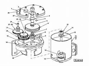 Conveyor Drive - Motor Parts  Von Weise  4 Hp