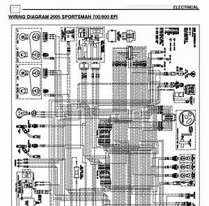 2005 Polaris Sportsman 700 Efi  U0026 800 Efi Wiring Diagram - Polaris Atv Forum