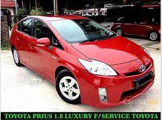Toyota Prius 2011 Hybrid 18 in Selangor Automatic