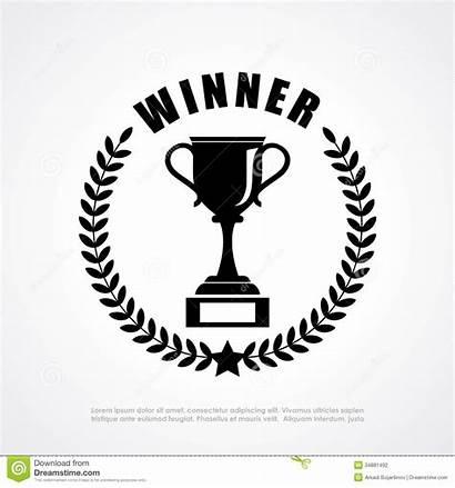 Winner Emblem Vector Clip Retro Prize Shutterstock
