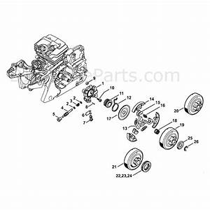 stihl ms 241 chainsaw ms241 c m parts diagram oil pump With stihl fuel pump