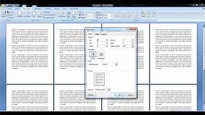 Ms Word Page Setup Shortcut Key For All Versions