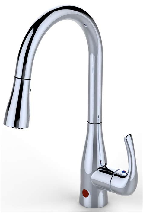 sensor kitchen faucet bio bidet up7000 single handle pullout flow motion sensor