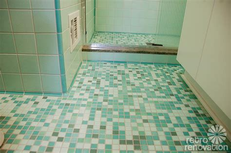 s mid century bathroom remodel using nemo tiles