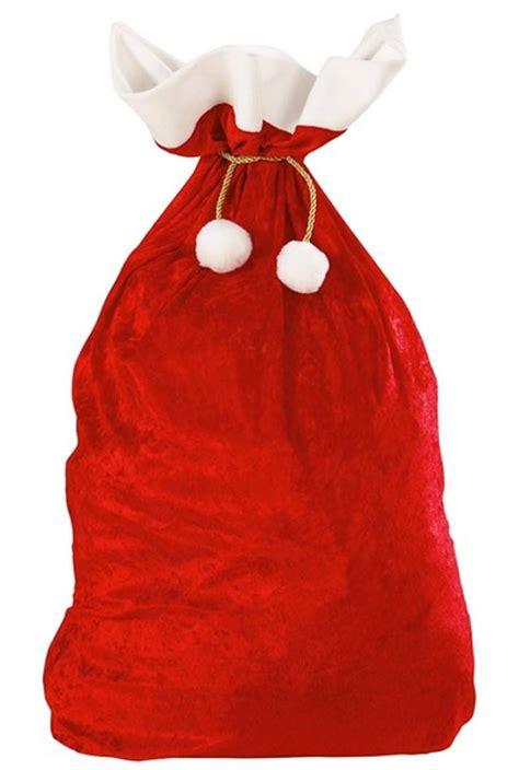 red velvet deluxe santa sack by widmann 1561x karnival