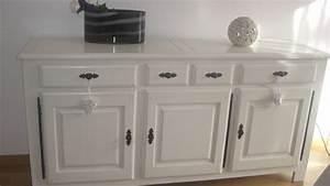 tacivcom que mettre au dessus d un buffet With faire un plan maison 14 agrandir lespace avec des miroirs miroir sur mesure