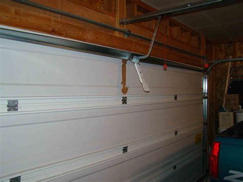 garage door opener ripped  door building construction diy chatroom home improvement forum