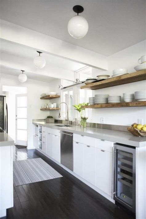 floating shelves  maximize  space   kitchen page