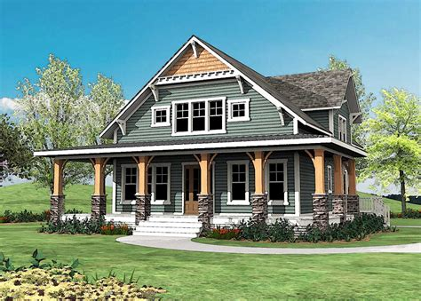 Craftsman With Wrap-around Porch