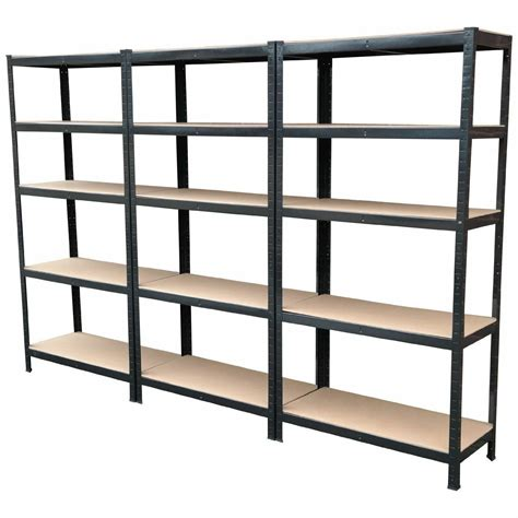 mm wide garage shelving units extra depth metal