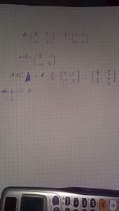 Adjunkte Berechnen : gegeben sei die matrixgleichung x a b x c richtig so ~ Themetempest.com Abrechnung