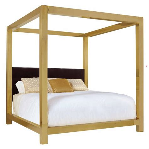 king canopy bed kensington brass king canopy bed