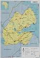 Detailed road and political map of Djibouti. Djibouti ...