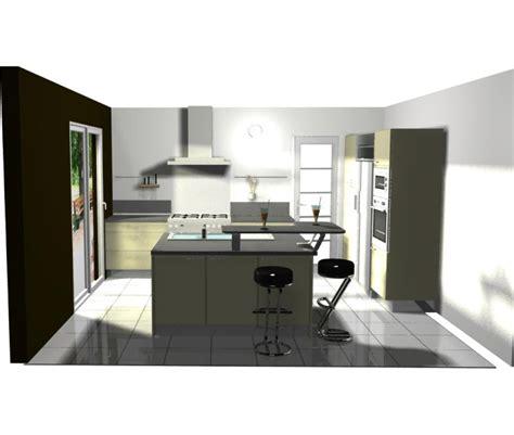 idee cuisine ouverte idee agencement cuisine ouverte cuisine en image