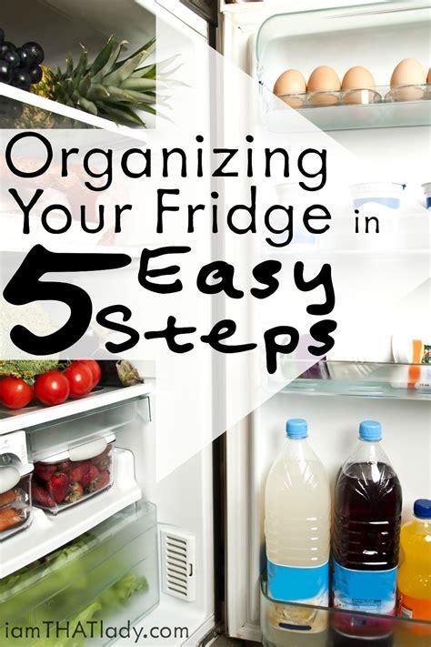 organizing  fridge   easy steps lauren greutman
